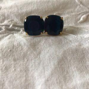 Kate Spade blue stone stud Earrings
